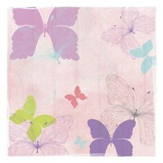 Butterfly Collage I