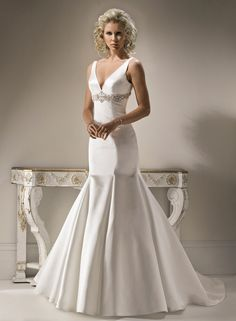 Satin Wedding Dresses For Your Glamour Appearance - The Wedding Ku