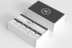 Simple Minimal Business Card 50 by Arslan on Creative Market