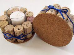 Addobbi natalizi fai da te: il riciclo creativo di tappi in sughero e cotton fioc