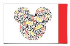 Handmade Boys Personalized Cotton Pillowcase Mickey Mouse Ears Disney World Pillow Room Decor Christmas Gift