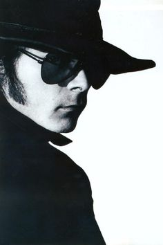 Andrew Eldritch of The Sisters Of Mercy