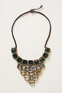 Anthropologie - Tuileries Ombre Bib Necklace