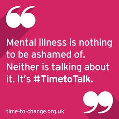 Definitely.  I resolve to never hide my mental illness.  Mental illness is nothing to be ashamed of #mentalhealth #timetotalk theirrationalmind.com