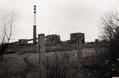 The abandoned nickel mill in Sered' Slovakia.