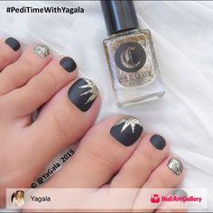 Toe Nail Art by Yagala via Nail Art Gallery #nailartgallery #nailart #nails…