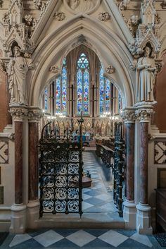 Oxford: Exeter College Chapel, UK