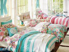Dormitorios para tres hermanas adolescentes
