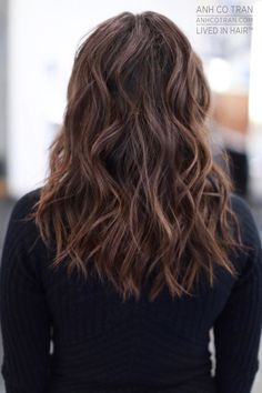 LONG // WAVES Cut/Style: Anh Co Tran • IG: @Anh Co Tran • Appointment inquiries please call Ramirez|Tran Salon in Beverly Hills at 310.724.8167. #dreamhair #fantastichair #amazinghair #anhcotran #ramireztransalon #waves #besthair2016 #livedinhair #coolhaircuts #coolesthair #trendinghair #model #inspo #long #movement #favoritehair #haircuts2016 #besthair #ramireztran #womenshaircut #hairgoals #hairtransformation #Brunette