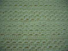 Crochet pattern afghan, baby blanket and preemie blanket. Cute Crochet, Beautiful Crochet, Crochet Crafts, Crochet Yarn, Crochet Stitches, Crochet Projects, Crochet Blankets, Baby Blankets, Preemie Crochet