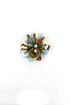 Avril unique natural tones ring by Dori Csengeri #DoriCsengeri #ring #designermaker #accessory