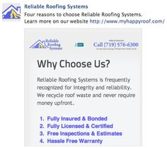 Reliable Roofing Systems Offers Dependable Roofing Solutions In
