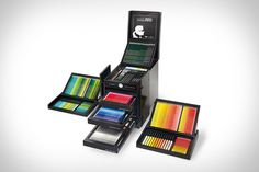 Karl Lagerfeld x Faber-Castell Drawing Set | Uncrate