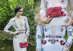 Fiori - embroidered dress - atelierdecouture - SAShE.sk