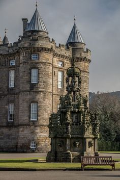 Holyrood Palace, Edinburgh, Scotland by StephenieEloise Scotland Castles, Scottish Castles, Places To Travel, Places To See, Wonderful Places, Beautiful Places, Holyrood Palace, Castles To Visit, Beaux Villages