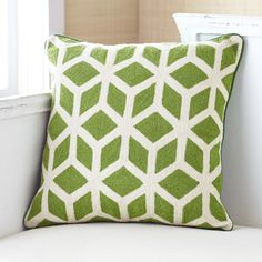 Cubed Pillow Cover – Green