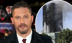 Tom Hardy raises £15k for Grenfell Tower victims
