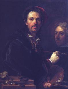 Jan Kupecký - Vlastní podobizna (1709)