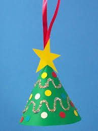 Image result for how to make paper plate christmas trees