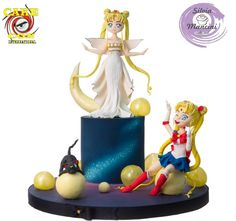 SAILOR MOON - CAKE CON INTERNATIONAL COLLABORATION by Silvia Mancini Cake Art