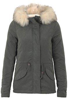 903b1cb8d6810a ONLY Damen Jacke onlLUCCA Short Parka OTW, Grau (Peat), 38  (Herstellergröße: M) #damen #damenmode #damenfrisuren #damenbekleidung  #winter #winterfashion ...