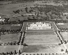 Beautiful Aerial View of Parliament House in Canberra Great Photos, Old Photos, Royal Society Of Arts, Australian Capital Territory, Growing Orchids, Houses Of Parliament, Places Of Interest, Historical Society, Aerial View