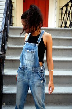 But not the skinny leg overalls not a good look on any one classic is well...classically classy