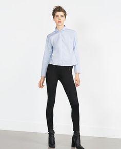 ZARA - WOMAN - LEGGINGS WITH ELASTIC WAISTBAND