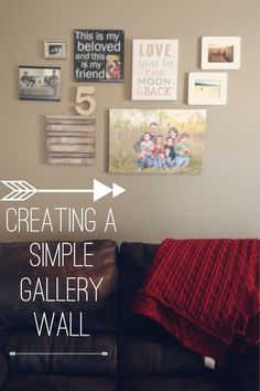 5 Tips for Creating a Simple #GalleryWall