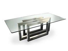 Tavolo rettangolare da pranzo REBECCA - Gonzalo De Salas
