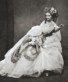 25 Stunning Photographs Of Countess De Castiglione  The 19th-century Italian aristocrat, better known as as La Castiglione, was an iconic model, muse, mistress, narcissist, and queen of drama. Daphne Guinness, eat your heart out.