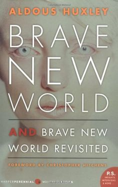 Brave New World and Brave New World Revisited by Aldous Huxley,http://www.amazon.com/dp/0060776099/ref=cm_sw_r_pi_dp_jxqjtb1N3071ENGV $5.45