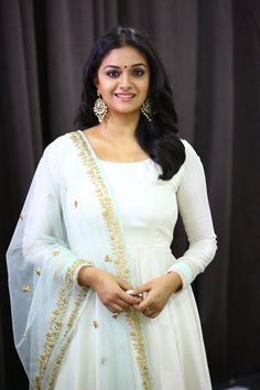 Actress Latest Stills Indian Dresses, Indian Outfits, Lace Dresses, Stylish Dresses, Fashion Dresses, Simple Anarkali, Anarkali Gown, Lehenga, Indian Bridal Sarees