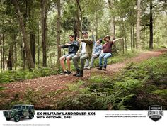 Read more: https://www.luerzersarchive.com/en/magazine/print-detail/australian-frontline-machinery-61471.html Australian Frontline Machinery Campaign for AFM's hero hardware – the no-nonsense ex-military Land Rover 4x4 that comes with absolutely no luxury options. Tags: Cream Studios,Danny Eastwood,The Hallway, Sydney,Australian Frontline Machinery,Simon Lee,Dylan Soopramania,Steven Hey