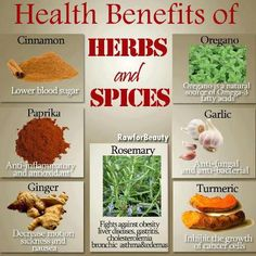 Stay Healthy with HERBS & SPICES: http://www.foodpyramid.com/healthy-eating/stay-healthy-with-herbs-2066/ #healthyeatingtips #herbs #spices