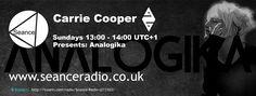 Carrie Copper Presents: Analogika on Seance Radio Sundays 13:00 UTC+1 #Electronica