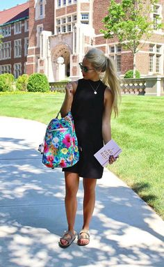 Collegiate style guru @molly__kathryn makes going back to campus oh so chic;)