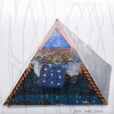 Orgone Throat Chakra Blue / Lapis Lazuli by OrchestratingOrgone, $75.00