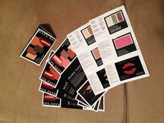 DICA - Maquiagem na cartela de papel...