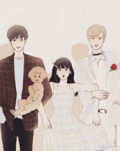 🌹#illust#illustrator#イラスト #少年#少女#소녀 #lovely#girl#boy #salgoo#salgoolulu#살구 #杏#アンズ #seoul #스토리픽#storypic #나의순결한행성 #나의소소한행성… Aesthetic Art, Aesthetic Anime, Character Illustration, Illustration Art, Wattpad Book Covers, Best Friend Drawings, Cute Couple Art, Art Poses, Korean Art