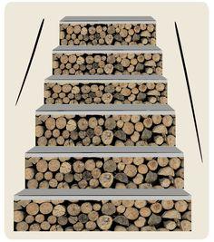 Vinilos de escaleras escandinavo vinilos para pelda os - Vinilos para escaleras ...