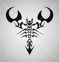 Tribal scorpion vector