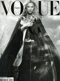 PARIS VOGUE - DECEMBER 2005 / JANUARY 2006 COVER MODEL - KATE MOSS (VERSION 2)