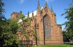 Carlisle Cathedral, England - a fine example of a medieval cathedral