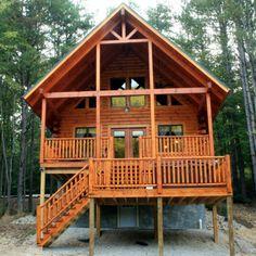 Superbe Hocking Hills Cabin: Marsh Hollow Log Cabin Rental