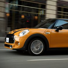 Taking the streets - and your questions - by storm. #asktheNEWMINI something today!