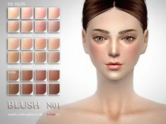 The Sims Resource: Blush 04 by S-Club • Sims 4 Downloads