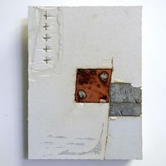 These concrete and textile pieces are by Dutch-born artist  Marlie Hoevers .  To see more of her work go to her website .