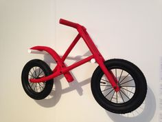Toy bike designed by Joe Pipal. Seen at RCA graduation show 2013
