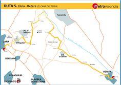 Metrovalencia - Bicimetro - El Camp del Túria